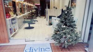 ディバイン金町店のクリスマスツリー